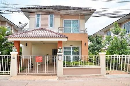 2 storey detached house for sale, Sittarom Village - Udon Thani, fully furnished.