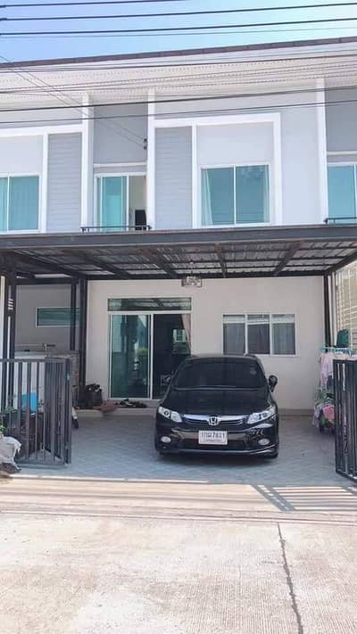 Very cheap sale, townhome Gusto Suksawat, good location, very beautiful house