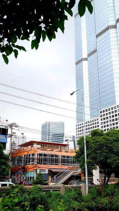 Commercial Space for Rent in Sathon, Bangkok - For Rent 90 square meters, next to Narathiwat-Sathorn Road, good location, near BTS Chong Nonsi.