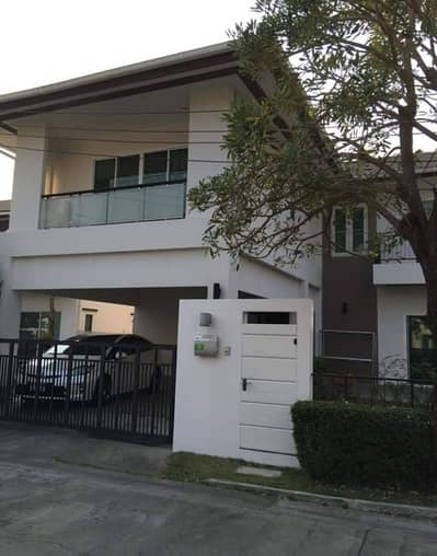 3 Bedroom Home for Rent in Mueang Nonthaburi, Nonthaburi - 2-storey detached house Modern style in the heart of the city Nirvana Project