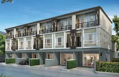 3 Bedroom Townhouse for Rent in Pak Kret, Nonthaburi - Townhouse for rent, 3-storey townhouse, The Plant Citi, Muang Thong Thani.