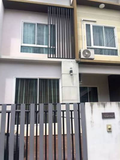 4 Bedroom Townhouse for Rent in Bang Yai, Nonthaburi - 2 storey townhome for rent, Bang Bua Thong