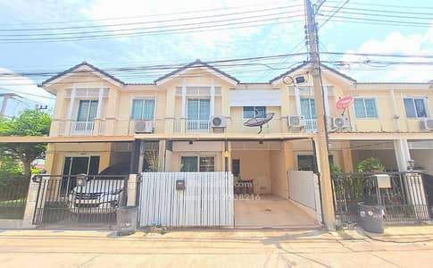 3 Bedroom Townhouse for Sale in Mueang Pathum Thani, Pathumthani - Townhouse for sale, Prueksa Ville 36, Songprapa - Don Muang, a beautiful house, ready to move in, near Rangsit University, Don Muang Airport