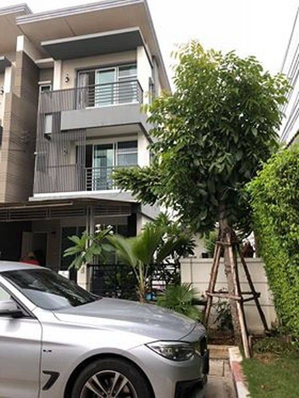 F1260563 Townhome for rent, Town Avenue Rama 9 (Town Avenue Rama 9), size 35 sq. w. , 3 floors.