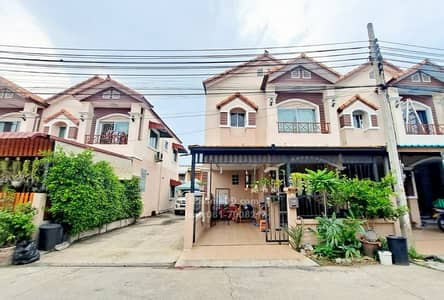 3 Bedroom Townhouse for Sale in Bang Bua Thong, Nonthaburi - Townhouse for sale, Sinlapakarn Park 4, Wat Lat Pla Duk, Bang Bua Thong, corner house, beautiful house, ready to move in, near the road