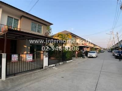 3 Bedroom Townhouse for Rent in Khlong Luang, Pathumthani - 2-storey townhouse (behind the corner) 24.1 sq. w. Pruksa Village 96