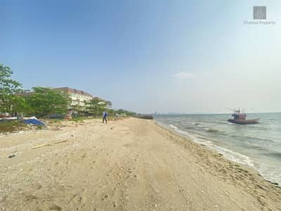 Land for Sale in Si Racha, Chonburi - Land for sale on the beach, Bang Phra, Si Racha