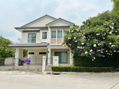 3 Bedroom Home for Sale in Sai Mai, Bangkok - House for sale Manthana Lake Watcharaphon Sukhaphiban 5 with cheapest price.