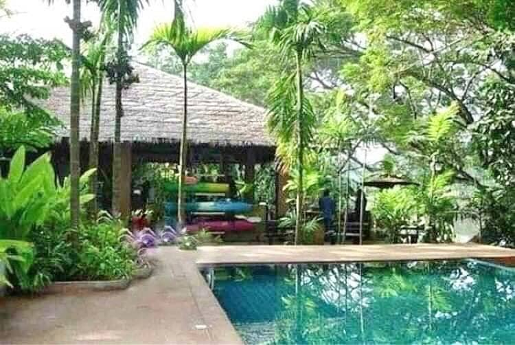 Sale and Rent Luxury Resort along the Ping River in Chiangmai countryside