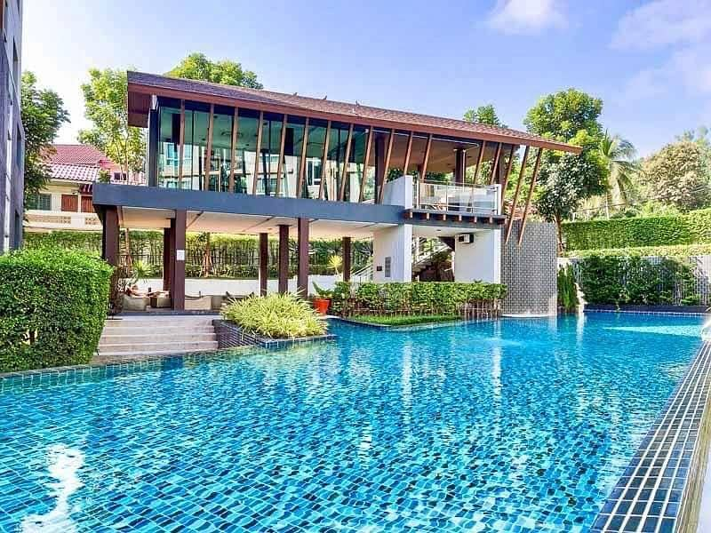 Condo for sale of 30sqm in Dcondo Campus Resort Chiangmai located behind CMU.