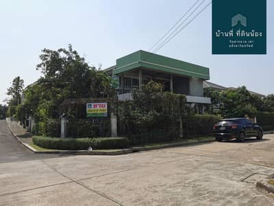3 Bedroom Home for Sale in Thung Khru, Bangkok - House for sale The Grand Ring-Prachauthit, Corner house, a lot of usable space The cheapest in the project, near KMUTT, Thon Buri Suan Kularb School, Central Rama 2