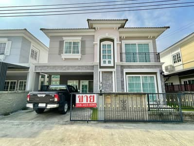 3 Bedroom Home for Sale in Bueng Kum, Bangkok - For sale Golden Neo Ladprao - Kaset Nawamin. Twin house size 37.1 sq wah , very good condition.