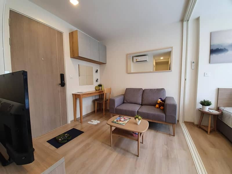 M3465-Condo for sale and rent, Chambers On Nut Station, near BTS On Nut, has a washing machine, fully furnished, ready to move in