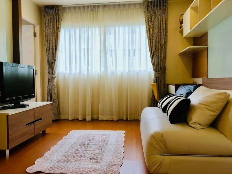 M3462-Condo for rent, Lumpini Mega City Bangna, near BTS Bangna, has a washing machine. Fully furnished, ready to move in