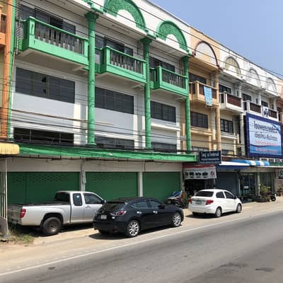 Commercial Building for Sale in Hang Dong, Chiangmai - อาคารพาณิชย์ 3ชั้น3คูหา