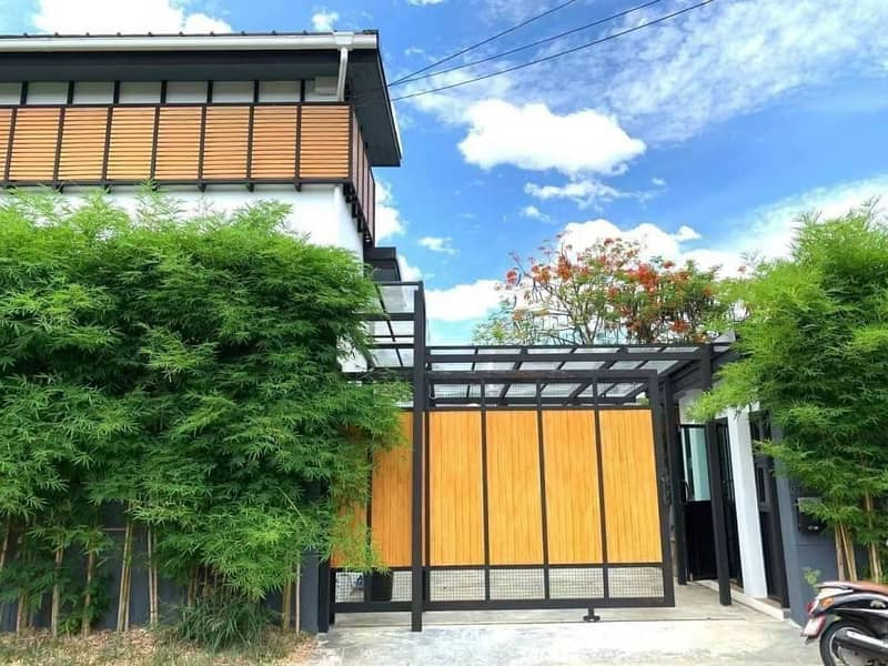 Beautiful 2 Stories Morden Japanese style house for rent in Moo ban  Chiang Mai Vila