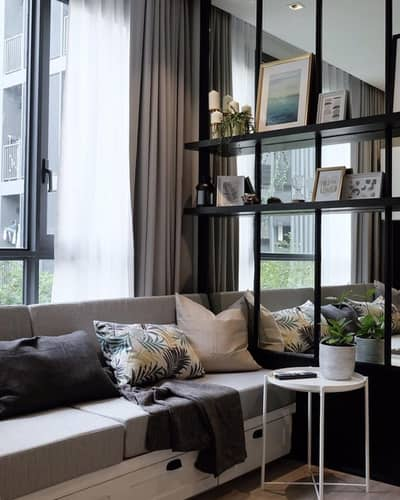 2 Bedroom Condo for Sale in Bang Sue, Bangkok - The Line Wonsawang for sale: Fully furnished with homie style - 2 Bed 49 sqm spacious corner room.