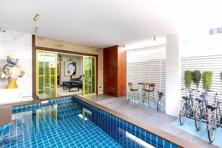 4 Bedroom Townhouse for Sale in Mueang Chiang Mai, Chiangmai - Sale and rent Modern luxury & Art style Town House near Nimmanhemin Rd. ChiangMai