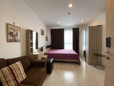 Condo for Rent in Bang Na, Bangkok - M3477-Condo for rent, Ideo Mobi Sukhumvit Eastgate, near BTS Bangna, there is a washing machine. Fully furnished, ready to move in