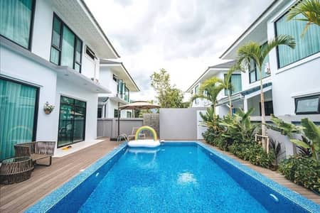 Beautiful modern style house for rent, with a private swimming pool
