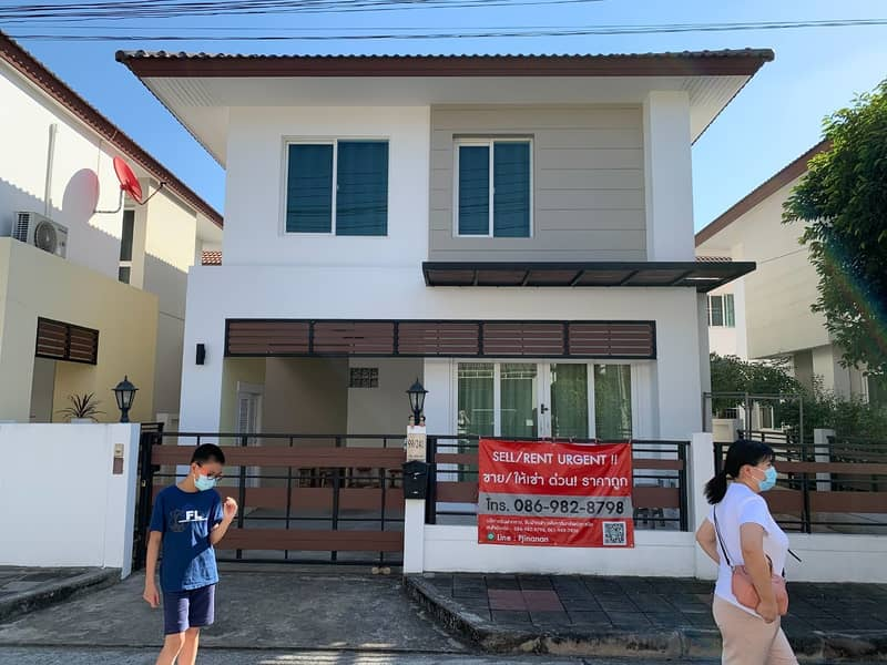 Good house in village project for rent in The Urbana 1