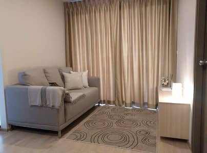 2 Bedroom Condo for Sale in Bang Na, Bangkok - M3501-Condo for sale, Ideo O2, near BTS Bangna and Bangkok Mall, has a washing machine. Fully furnished, ready to move in