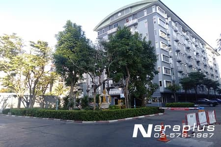 1 Bedroom Condo for Rent in Huai Khwang, Bangkok - 64010076 : Condo for rent, City Home, Ratchada Soi 10 (68 sq. m. ), Rim room, wide front view, 2 sides view (Big project type), new condition, ready to move in.