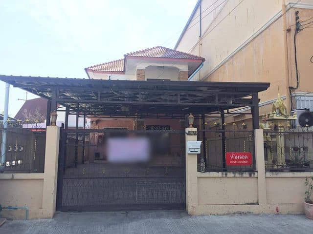 Single house for rent, residence, home office, shop opening Behind the Central, in front of Rajabhat Techno