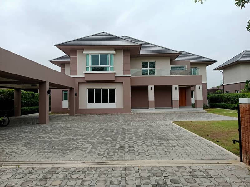 Luxury Single detached House In Nichada Thani project