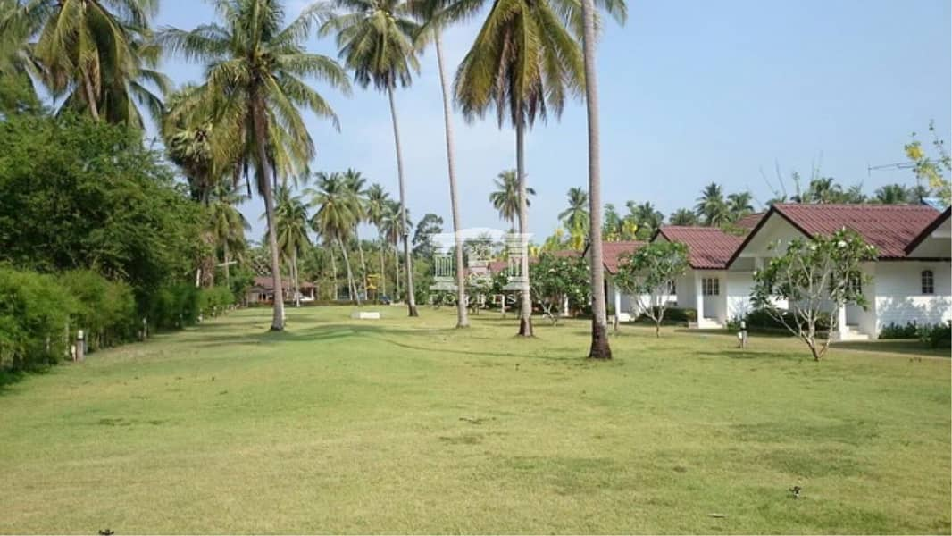 40514 - Resort for sale, private beach with 11 houses, Plot size 4-1-92 rai.