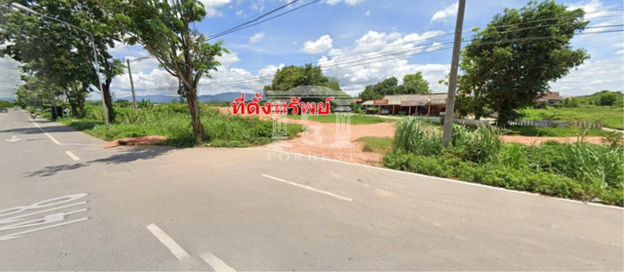 40236 Land for sale. Next to the airport entrance, pink area, Plot size 12-0-69.60 rai