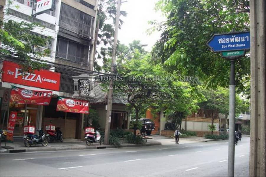 39464-Commercial building For Rent , 5-stories , Surawong Road, Usable area 45 sq. w.