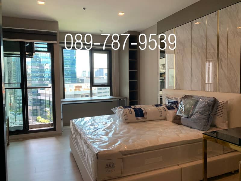 Condo for rent, Life One Wireless 21st floor very nice room , near Central Embassy BTS Ploenchit
