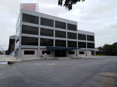 Factory for Rent in Mueang Samut Sakhon, Samutsakhon - Rent factory, warehouse, area 30 rai, usable area 10,000 Square meters (purple area), office building, 4 floors, Rama 2 Road, Muang Samut Sakhon District