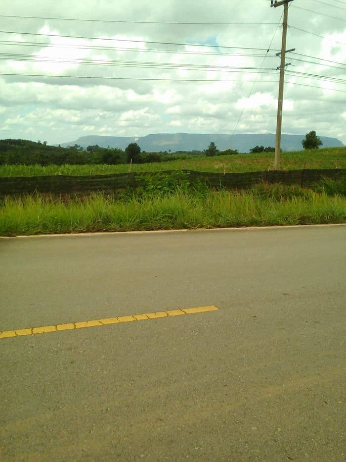Beautiful land on the road 2216 Nao