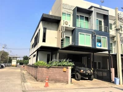 3 Bedroom Townhouse for Sale in Khan Na Yao, Bangkok - Townhome for sale, Greenwich Ramintra, behind the corner, fill the area with, ready to move in.