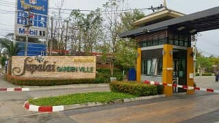 Residence House for sale, 2 storey , Opposite Central Department Airport, Downtown Chiangmai