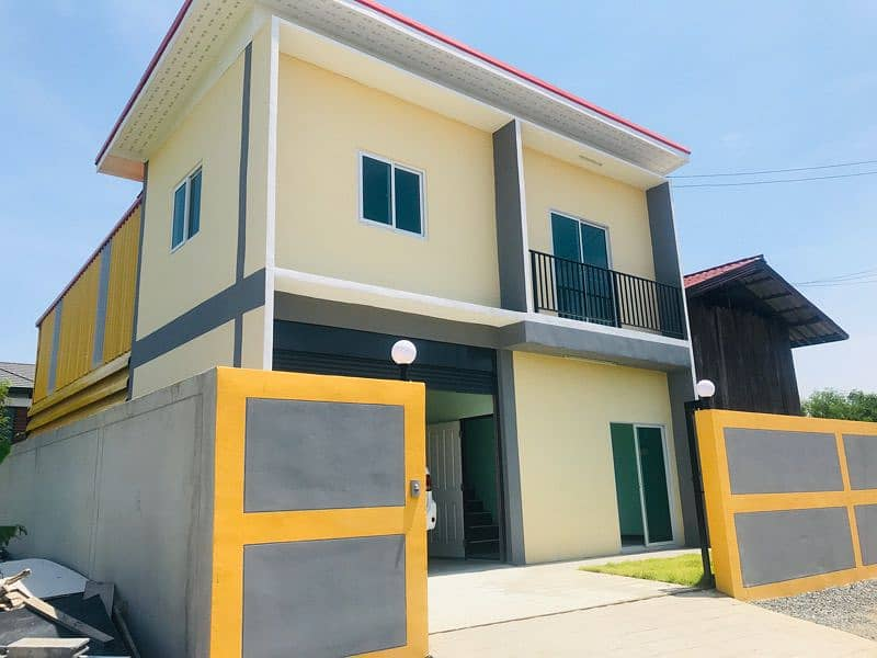 Mini factory for sale or rent, new warehouse, area 50 square meters