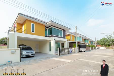 3 Bedroom Home for Sale in Sam Phran, Nakhonpathom - The house is like new, the social village on Petchkasem Road. Near Suan Sampran and Lotus Petchkasem Samphran for sale at an unbeatable price.