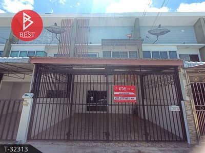 3 Bedroom Townhouse for Sale in Mueang Nakhon Pathom, Nakhonpathom - 2 storey townhouse for sale, ready to move in, Ob Sap Village, Lam Phaya, Nakhon Pathom.