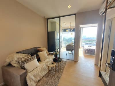 1 Bedroom Condo for Sale in Mueang Nonthaburi, Nonthaburi - The Cuvee Tiwanon (Cuvee), a luxury condo, 33-storey, 270 degrees view of Chao Phraya water curve, near MRT Tiwanon intersection