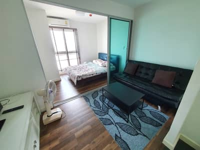 1 Bedroom Condo for Rent in Bang Phli, Samutprakan - For rent, A Space ME Bangna Condo, A Space ME Bangna, next to IKEA Mega Bangna + with washing machine.
