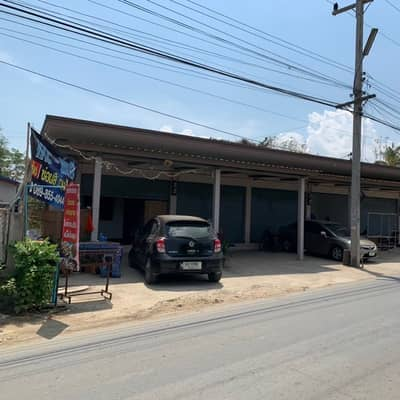 Commercial Building for Sale in Hang Dong, Chiangmai - ตึกแถวชั้นเดียว 6 ห้อง 272 ตารางวา