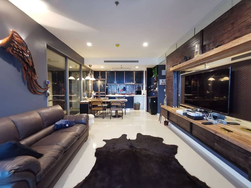 M3583-Condo for sale and rent, Star View Rama 3, has a washing machine, fully furnished, ready to move in.