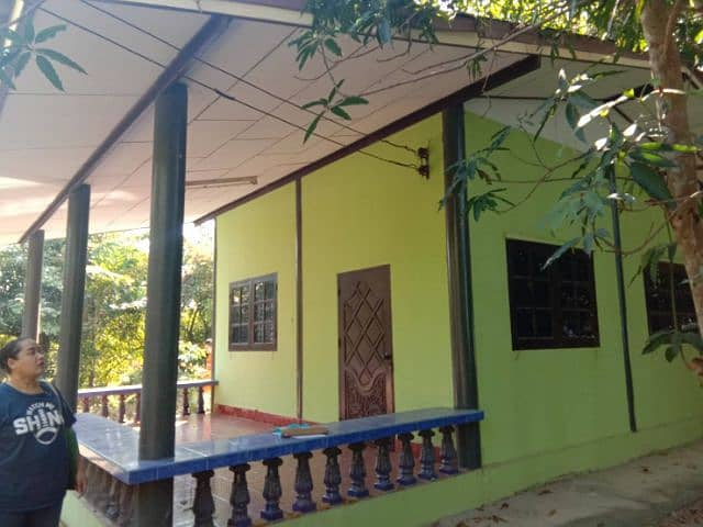 Single house with land in the Meyong Chid garden. 200 square wa. , Nakhon Nayok, Tha Sai, Ongkharak, Nong Krua Khun Rat, Nai Roi School, Nakhon Nayok Province
