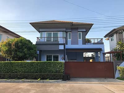3 Bedroom Home for Rent in Prawet, Bangkok - 2 storey detached house for rent, Ring Road - On Nut, area 55 square wah, 3 bedrooms, 3 bathrooms, rental price 30,000 baht per month.