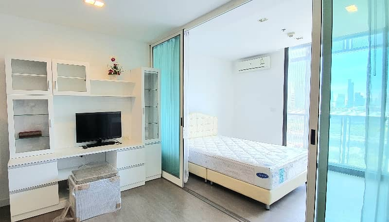 Condominium for sale! A Space ID (Asoke-Ratchada) near Phra Ram 9 MRT station, Fortune Town. Fully Furnished!