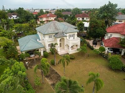 4 Bedroom Home for Sale in Thawi Watthana, Bangkok - Mansion for sale in the middle of the lake, area of 1 rai 61 square meters, Redawan Pinklao Project, Borommaratchachonnani Road Affordable price, kind owner, can negotiate