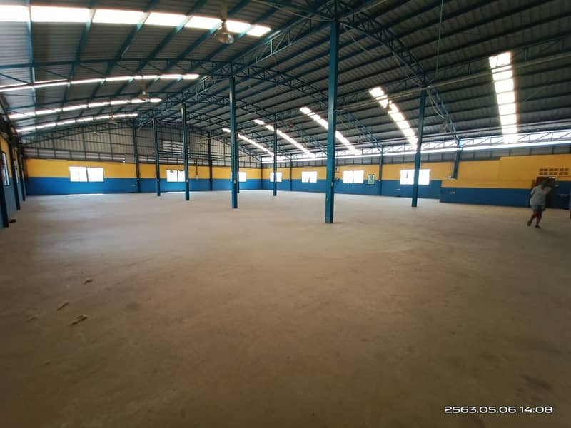 For Sale - Warehouse for rent 1500 sq m. Land 346 sq m. Building 2 floors with elevator, Nong Khaem, Bangkok.