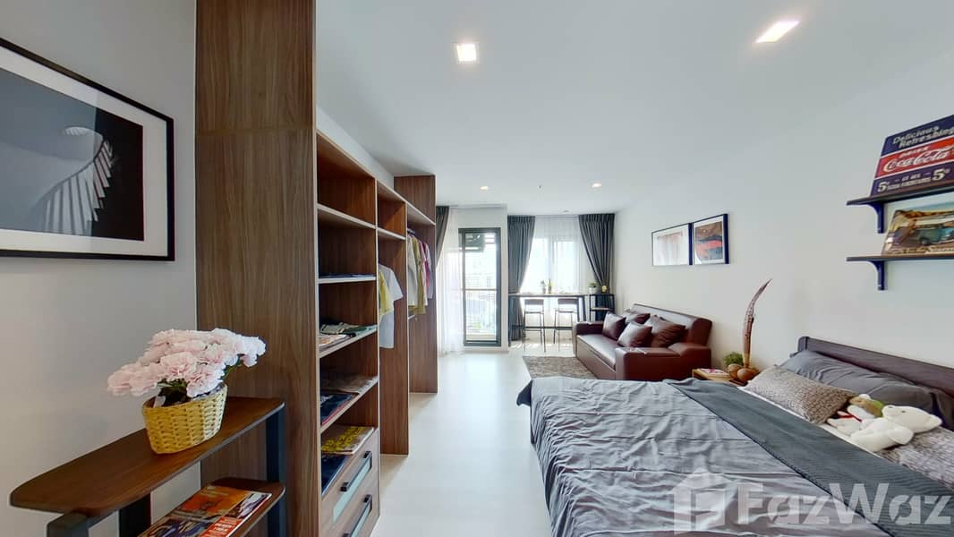 1 Bedroom Condo for rent at Life One Wireless